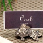 Pewter Fish Place Cards