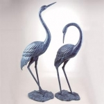 Crane Sculptures Wildlife Art Unlimited