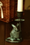 Mouse & Book Candle Holder