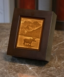 Majestic Moose Lithopane Shadow Box