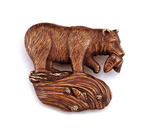 Hunting Bear Door Knocker