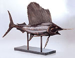 Museum Sailfish Statue