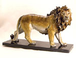 Majestic Lion Sculpture