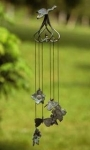 Dogwood & Butterfly Wind Chime
