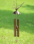 Stylized Butterfly Tube Wind Chime