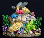 Sea Turtle Keepsake & Jewelry Box