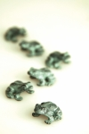 Hopping Frog Mini Sculptures (Set of 3)