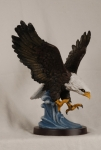 Eagle Statue - Hand Painted