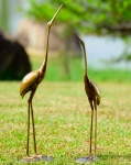 Crane Pair Sculptures