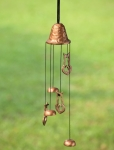 Stylized Cat Wind Chime