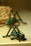 Small Cricket Sculpture