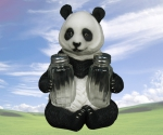 Panda Seasons Salt & Pepper Holder
