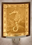 Seahorse Lithophane Night Light