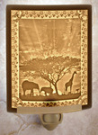 African Sunset Lithophane Night Light