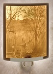 Peaceful Dawn Lithophane Night Light