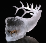 """Love's Journey"" Elk Sculpture"