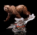 """Solitary Hunter"" Bear Sculpture"