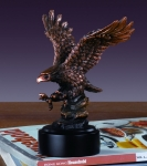 Hunting Eagle Sculpture
