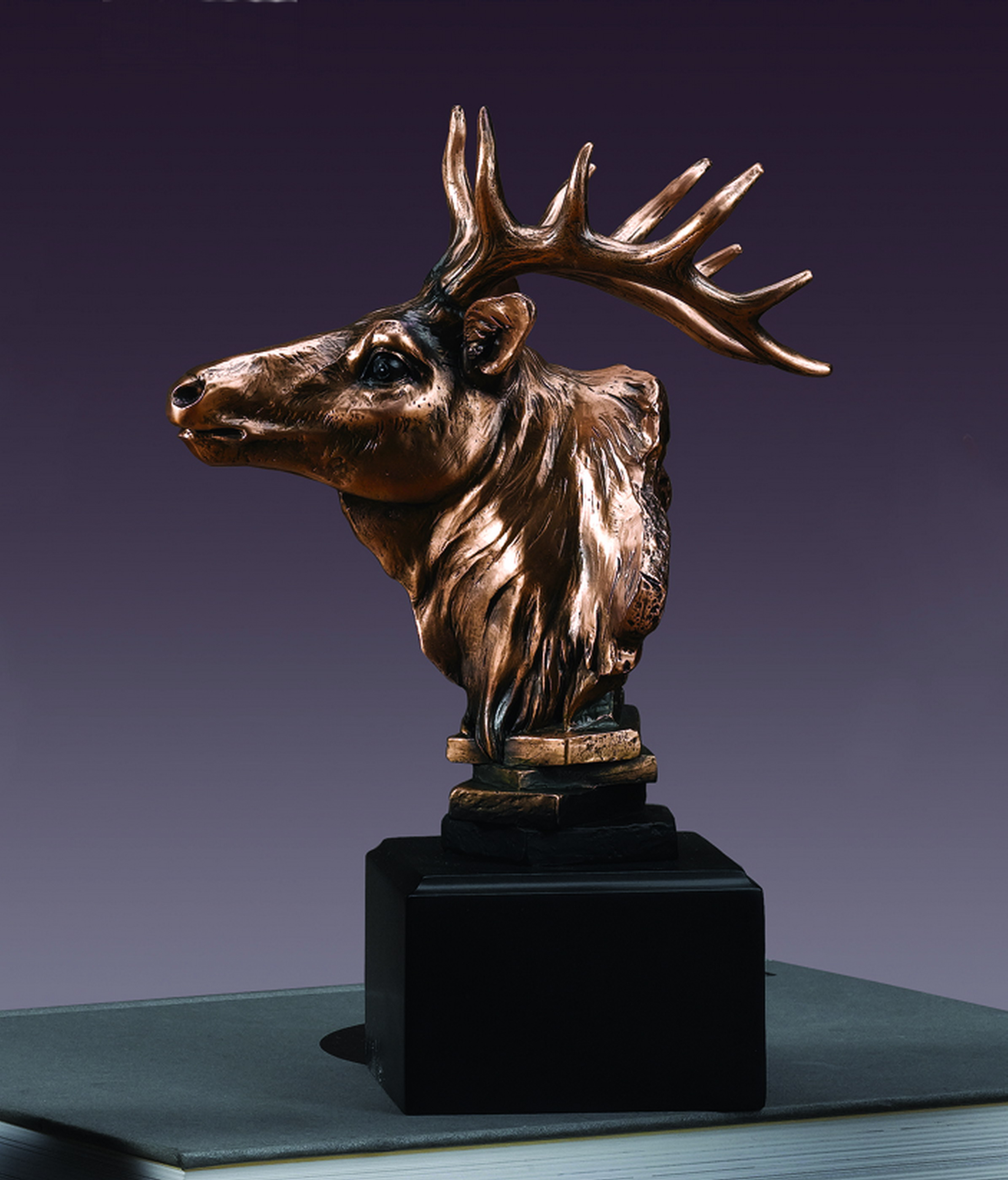 Elk Head Sculpture