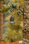 Bird and Butterfly Garden Bell