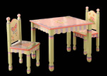 Magic Garden Child Table & Chair set