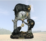 """Beary Playful Time"" Clock"
