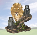 """Rex"" Lion Salt & Pepper Holder"