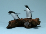 Double Penguin Sculpture