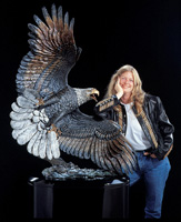 """Windwalker"" Life-Size Eagle"