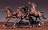 """Thundering Hooves"" Horse Sculpture"