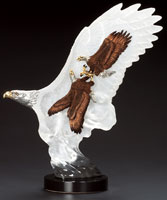 """Leading The Way"" Two Eagles Sculpture"