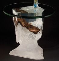 "Sorry...SOLD OUT! ""Between Earth & Sky"" Limited Edition Eagle End Table"