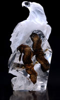 """Valor"" Eagle Lucite Sculpture Limited  Edition"