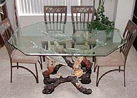 """LIMITED EDITION"" CUSTOM MADE Bronze Dolphin Dining Room Table"
