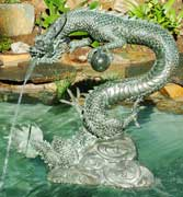 Medium Water Dragon Fountain