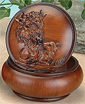 BUFFALO TRINKET BOX