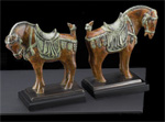 Tang Horse Bookends