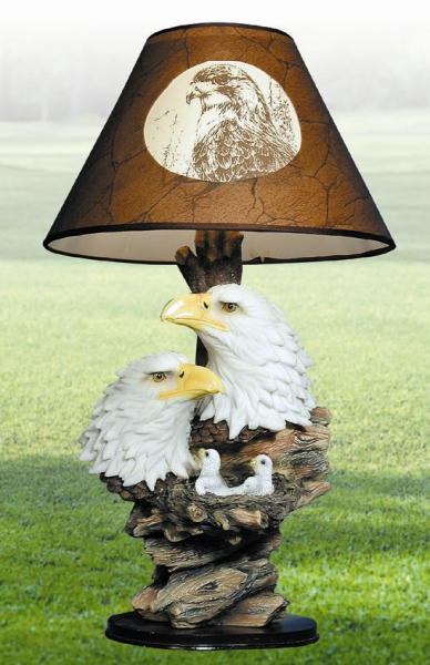 Eagle Nest Table Lamp