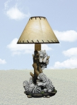 White Tiger Table Lamp